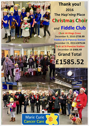 Events in Pictures. Marie Curie Xmas 2016