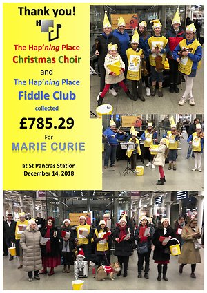 What's Hap'ning?. Marie Curie 2018